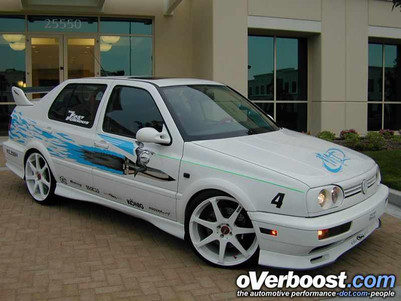 The Fast And The Furious Jetta on 2006 Vw Jetta White